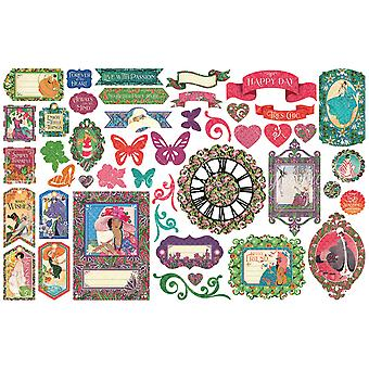 Fashion Forward Cardstock Die - Cut Assortment