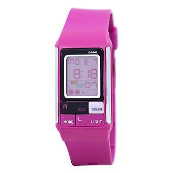 Casio Poptone Dual Time Alarm Digital LDF-52-4A LDF52-4A Damen's Uhr