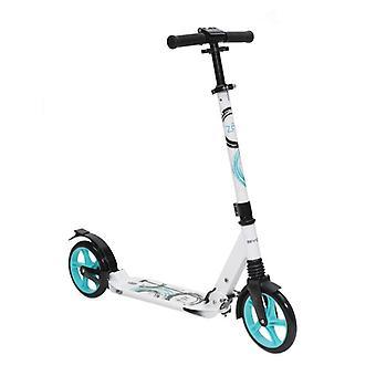 Børne scooter Zen aluminium, foldbar støddæmper, justerbar styr, 200mm PU