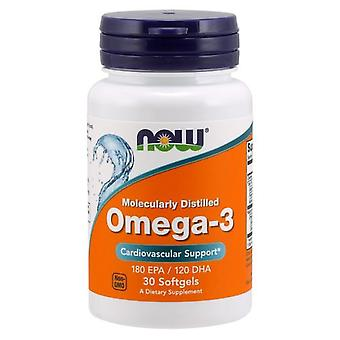 Now Foods Omega-3 fish oil 30 Soft Capsules