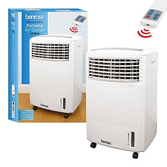 Benross Portable Air Cooler With Remote Control 60W White