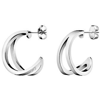 Calvin Klein overzicht zilver RVS dames oorbellen KJ6VME000100