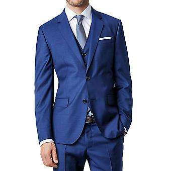 Gerade geschnittene Anzug Jacke gebogen