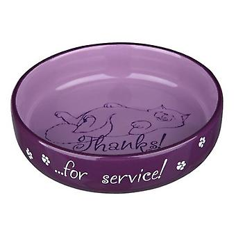 Trixie Ceramic Bowl for short-nosed Breeds 0,3 L. Ø15 Cm.