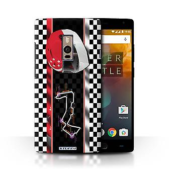 STUFF4 Case/Cover for OnePlus 2/Two/Singapore/F1 Track Flag