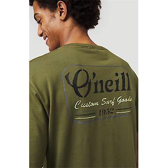 O'Neill Men's Camiseta - Musgo más fresco