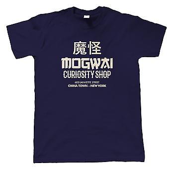 Mogwai Curiosity Shop Gremlins Movie Inspired, Mens T-Shirt - Gift Him Dad