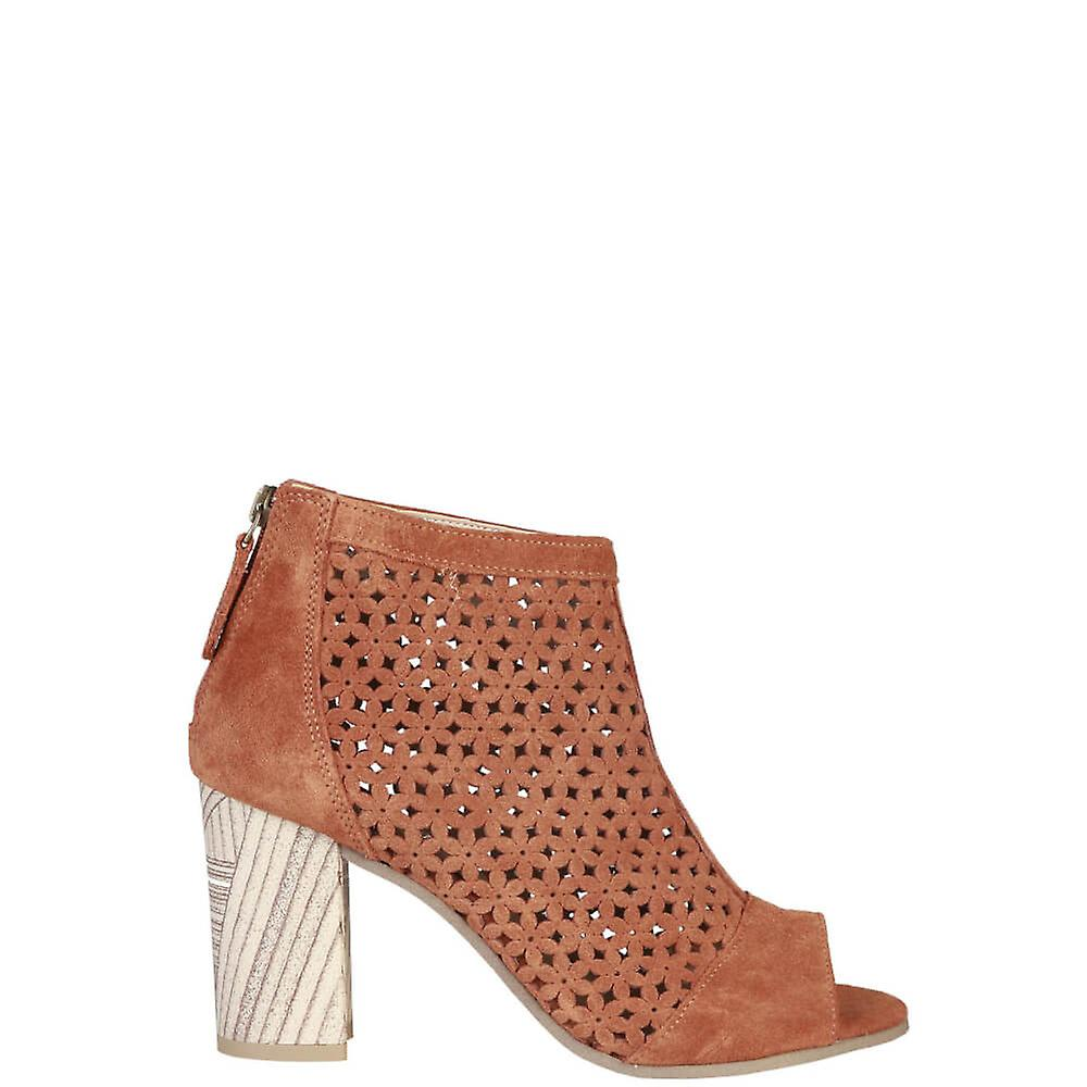 Pierre Cardin Original Women Spring/Summer Ankle Boot - Brown Color 29356 iAHDm