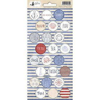 Piatek13 - Sticker sheet Off Shore II 03 P13-303 10.5x23 cm