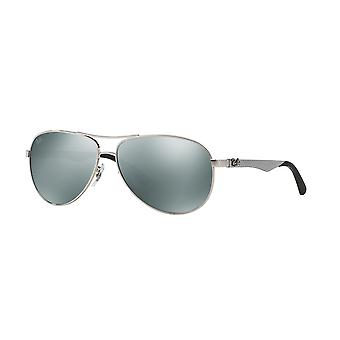 Ray-Ban RB8313 003/40 Silver /Crystal Grey Mirror Sunglasses