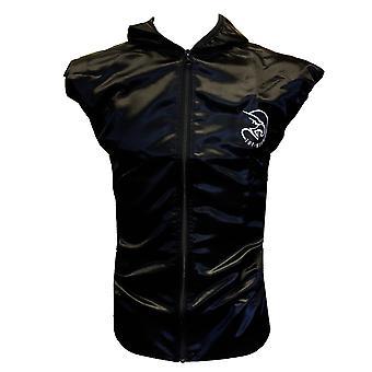 Tuf Wear Satin Ring Jacket Noir