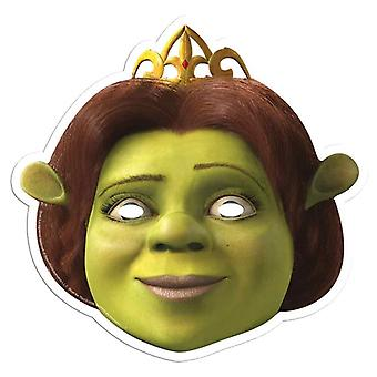Princess Fiona from Shrek Single Card Party Fancy Dress Mask
