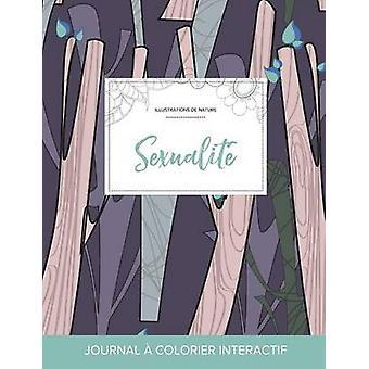Journal de coloration adulte Sexualit Illustrations de nature Arbres abstraits by Wegner & Courtney