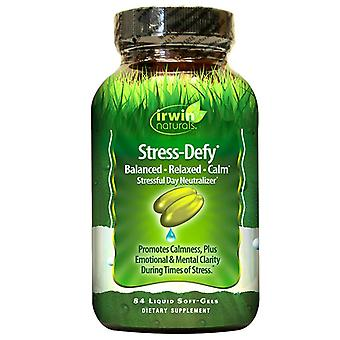 Irwin naturals stress-defy stressful day neutralizer, softgels, 84 ea