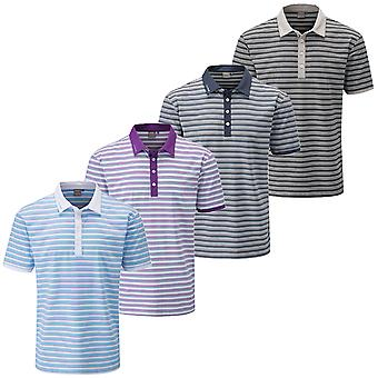 Ping Collection Mens Healey Tour Performance Tech Golf Polo Shirt