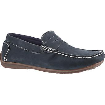 Hush puppies men's roscoe slip on shoe various colours 30211