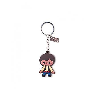 Official Star Wars Han Solo Rubber Keychain