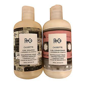 R+Co Cassette Curl Shampoo & Conditioner Duo 8.5 OZ