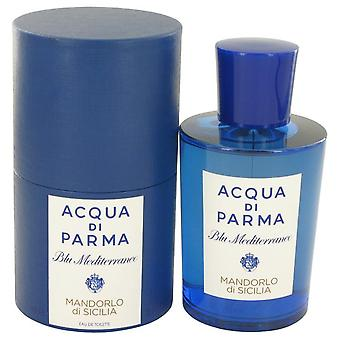 Blu Mediterraneo Mandorlo Di Sicilia Eau De Parfum Spray przez Acqua Di Parma 5 uncji Eau De Parfum Spray