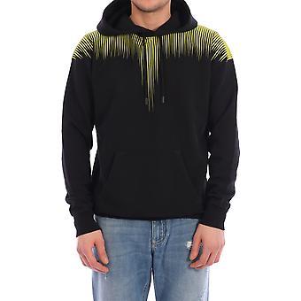 Marcelo Burlon Cmbb007s20fle0041015 Men's Black Cotton Sweatshirt