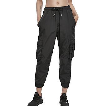 Urban Classics Ladies - Pantaloni SgualciA A vita alta