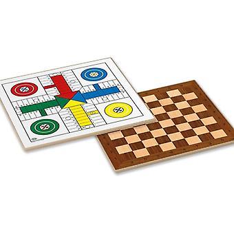 Parchís, Chess and Checkers Board Cayro (40 x 40 cm)