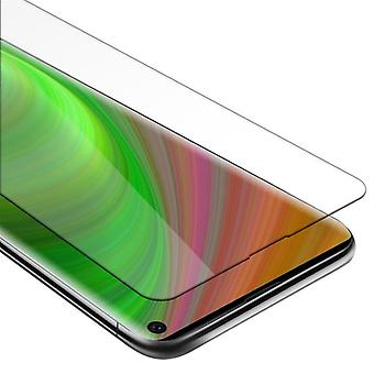 Cadorabo Tank Foil for Samsung Galaxy S10 - Protective Film in KRISTALL KLAR - Tempered Display Protective Glass in 9H Hardness with 3D Touch Compatibility