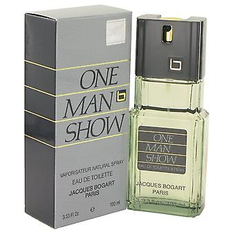 One Man Show Eau De Toilette Spray By Jacques Bogart 3.3 oz Eau De Toilette Spray