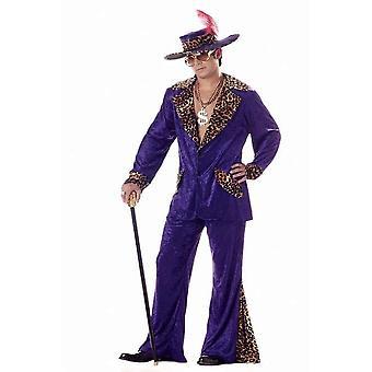 Pimp Adult kostym