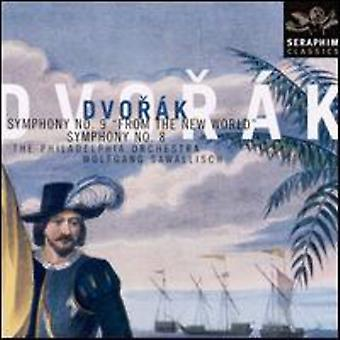 Wolfgang Sawallisch - Dvorak: Symphonies 8 & 9 [CD] USA import