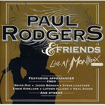 Paul Rodgers & Friends - Live at Montreux 1994 [CD] USA import