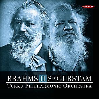 ・ ブラームス ・ トゥルク ・ フィルハーモニック ・ オーケストラ/セーゲルスタム - ブラームス II セーゲルスタム [SACD] 米国のインポート
