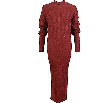 Kenzo Textured Long Knit Dress