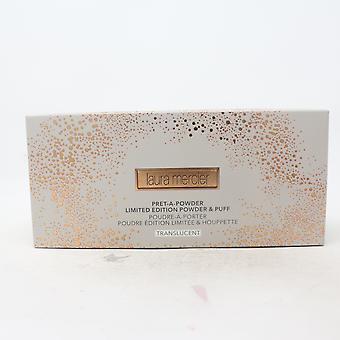 Laura Mercier Pret-A-Powder Limited Edition Prášok & Puff 1oz priesvitné Nové