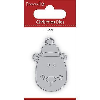 Dovecraft Christmas Die Bear