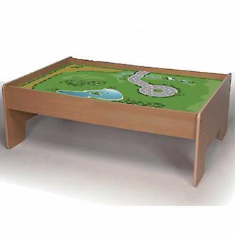 Bigjigs tren madera juego de mesa