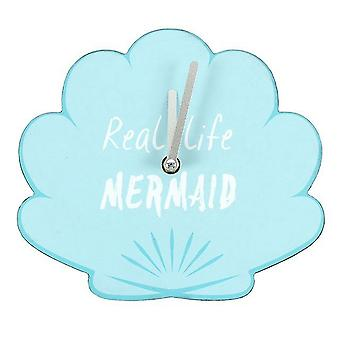 Something Different Real Life Mermaid Shell Clock