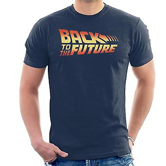 Back To The Future Classic Logo Men's T-Shirt