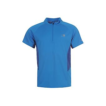 Karrimor Zipped Short Sleeved T Shirt Mens