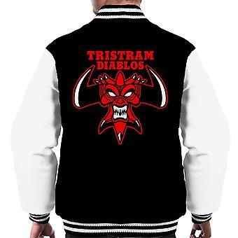 Tristram Diablo Men's Varsity Jacket