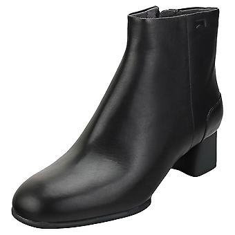 Camper Katie Womens Ankle Boots in Black