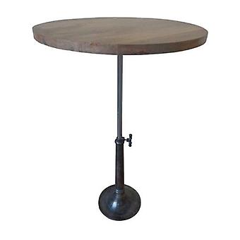 Deco4yourhome Round Table Metal & Wood
