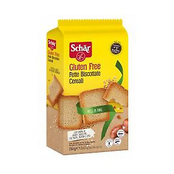 Crispbread with cereals without gluten 250 g