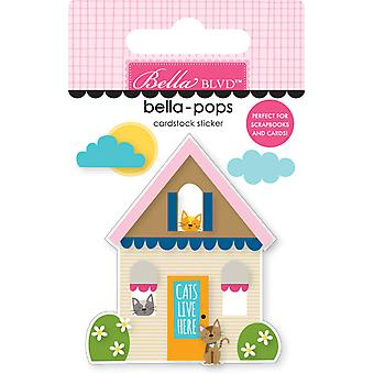 Bella Blvd Cat House Bella-Pops (3kpl) (BB2281)