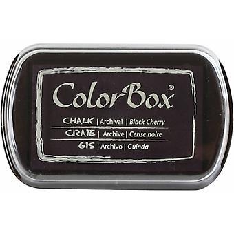 Clearsnap ColorBox Liitu muste täysikokoinen musta kirsikka