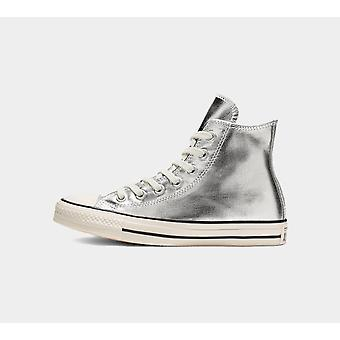 Converse Ctas Hi 564869C Silver Womens Chaussures Bottes
