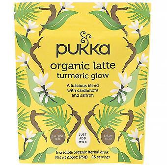 Pukka Herbs, Turmeric Glow Organic Latte, Caffeine-Free, 2.65 oz (75 g)