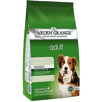 Arden Grange Adult Dog - Agnello & Riso - 12kg