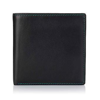 Green Label Luxury Musta nahka Luottokortti Lompakko
