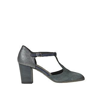 Pantanetti Ezgl559002 Women's Grey Suede Pumps